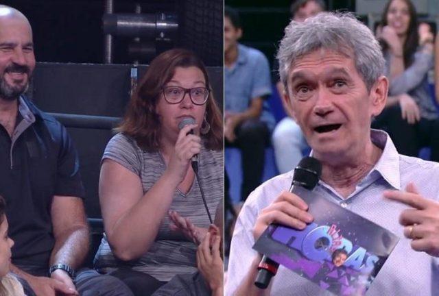 Mulher culpa Serginho Groisman por falta de sexo no casamento