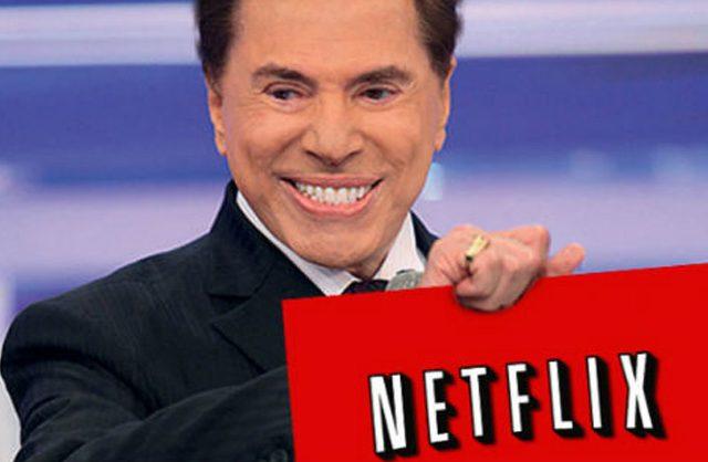 Silvio Santos pretende lançar plataforma para concorrer com Netflix