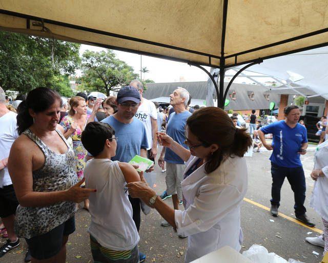Paulistanos podem se vacinar contra febre amarela neste sábado