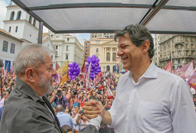 Pesquisa Vox Populi: associado diretamente a Lula, Haddad soma 22% e ultrapassa Bolsonaro