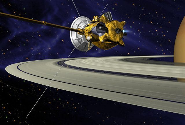 Cassini manda presente para Terra depois de passar 20 anos em Saturno (VÍDEO)