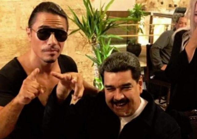 Venezuelanos protestam após vídeo de Maduro comendo churrasco na Turquia