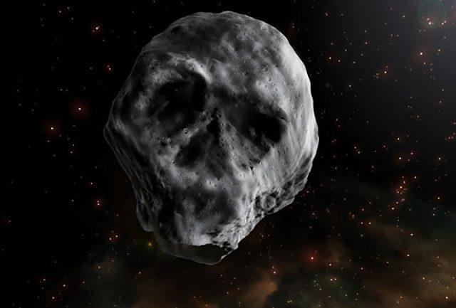 Asteroide com aparência macabra está se aproximando da Terra