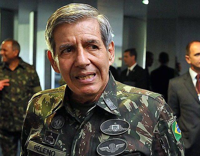 Negociações na área militar com EUA são saudáveis, diz general Heleno