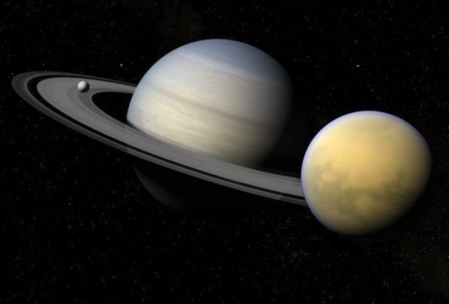 NASA encontra 'corredor de gelo' em uma das luas de Saturno