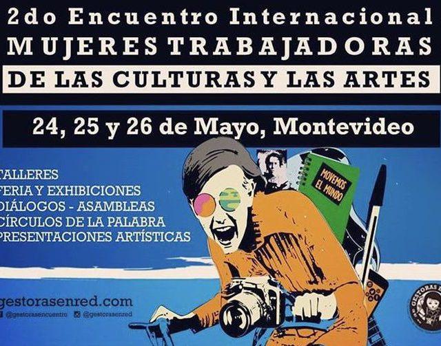 Arte e cultura reúnem mulheres em Montevidéu