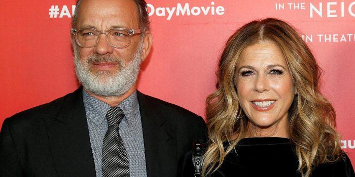 Tom Hanks e Rita Wilson celebram 32 anos de casamento
