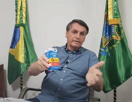 YouTube remove vídeos de Bolsonaro defendendo medicações para tratar Covid-19