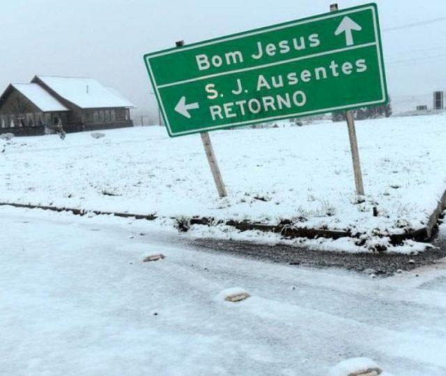 Institutos de meteorologia preveem neve no Sul do país nos próximos dias