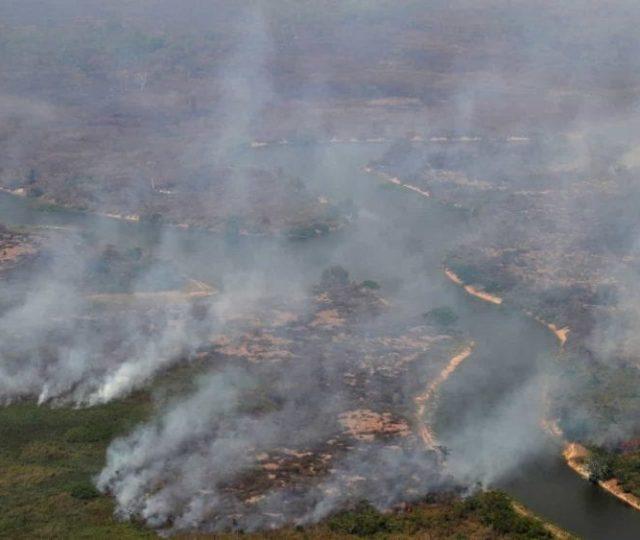 Fumaça de queimadas no Pantanal pode chegar ao Rio de Janeiro