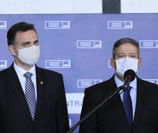 Arthur Lira e Rodrigo Pacheco esperam aprovar reforma tributária em até oito meses