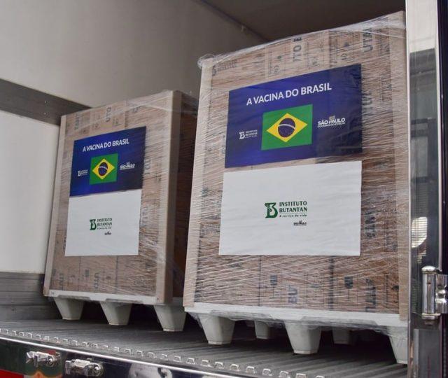 Butantan entrega mais 3,4 milhões de doses da CoronaVac ao governo federal