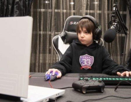 Menino de 8 anos se torna jogador profissional de Fortnite com contrato de US$ 33 mil
