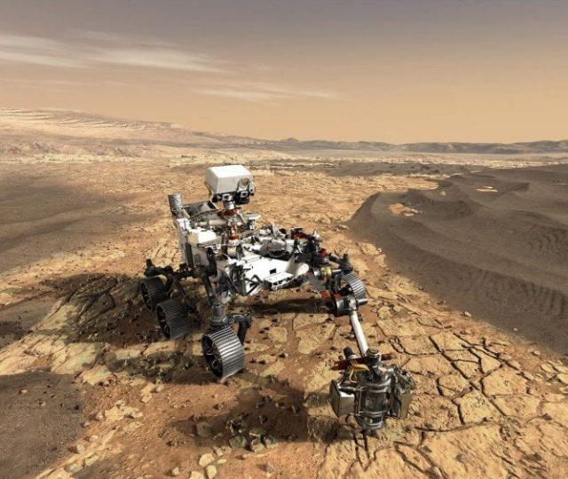 Robô Perseverance consegue reproduzir oxigênio em Marte