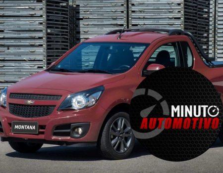 Chevrolet Montana sai de linha no Brasil