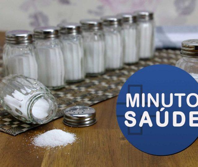 OMS quer impor limite de sódio nos alimentos para reduzir 30% do consumo de sal