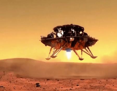 Rover chinês pousa em Marte; país é o segundo a ter missão em solo marciano