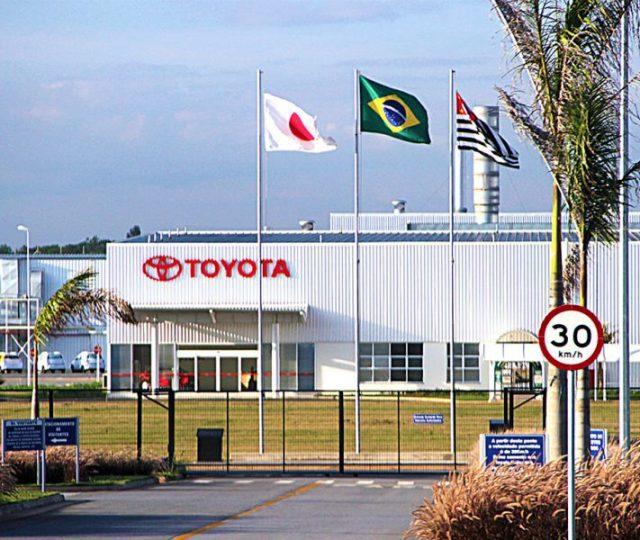 Por falta de insumos, Toyota vai suspender operação na fábrica de Indaiatuba
