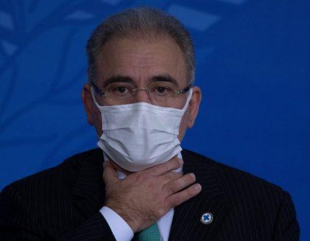 Ministro da Saúde Marcelo Queiroga testa positivo para Covid-19 em Nova York