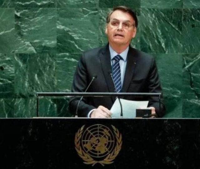 Bolsonaro defende tratamento precoce contra Covid em discurso na ONU