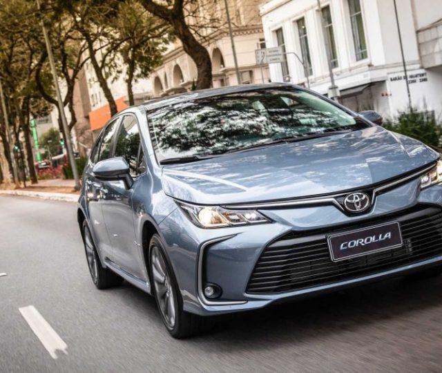 Toyota aumenta preços do Corolla que agora parte de R$ 130 mil